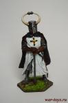 Гроссмейстер Тевтонского ордена, 13 век - Оловянный солдатик коллекционная роспись 54 мм. Все оловянные солдатики расписываются художником вручную