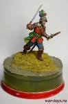Офицер английской пехоты, середина 17 века - Оловянный солдатик коллекционная роспись 54 мм. Все оловянные солдатики расписываются художником в ручную