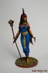 Египетская богиня Исида - Оловянный солдатик коллекционная роспись 54 мм. Все оловянные солдатики расписываются художником в ручную