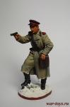 Старший лейтенант Красной Армии, 1943-45 гг. СССР - Оловянный солдатик коллекционная роспись 54 мм. Все оловянные солдатики расписываются художником в ручную