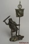 Вексилларий XXIV легиона I-II в. н.э. - Не крашенный оловянный солдатик. Высота 54 мм.
