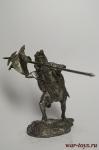 Вексилларий когорты эвокатов XXIV легиона I-II в. н.э. - Не крашенный оловянный солдатик. Высота 54 мм.