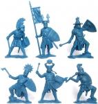 Набор солдатиков Германские рыцари - 2 (пластик) 6 фигур - Набор из 6 фигур. Пластик, высота фигур 54 мм.