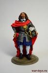 Испанский генерал, XVII век - Оловянный солдатик коллекционная роспись 54 мм. Все оловянные солдатики расписываются художником в ручную