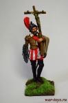 Конкистадор (Мексика, 1519) - Оловянный солдатик коллекционная роспись 54 мм. Все оловянные солдатики расписываются художником в ручную