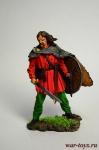 Викинг с мечом 925 г. н.э. - Оловянный солдатик коллекционная роспись 54 мм. Все оловянные солдатики расписываются художником в ручную