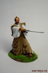 Дуэль Воина-Самурая - Оловянный солдатик коллекционная роспись 54 мм. Все оловянные солдатики расписываются художником в ручную
