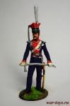 Офицер уланских полков, 1812 Россия - Оловянный солдатик коллекционная роспись 54 мм. Все оловянные солдатики расписываются художником в ручную