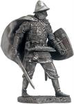 Восточнославянский воин в ламеллярном доспехе, 11-13 вв 75мм