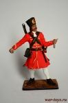 Гренадер 2-го Выборного (Бутырского) полка, 1698-1702 гг. Россия