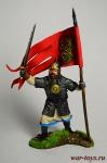 Русский дружинник-знаменосец 13 век.
