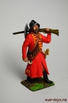 Стрелец в шлеме, с мушкетом, бердыш за спиной - Оловянный солдатик коллекционная роспись 54 мм. Все оловянные солдатики расписываются художником в ручную