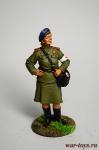 Девушка-санинструктор, сержант Красной армии. 1943-45 гг. СССР