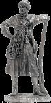 Московский стрелец. Вторая половина 17 века 75 мм - Оловянный солдатик. Чернение. Высота солдатика 75 мм