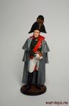 Генерал от инфантерии М.Б.Барклай де Толли. Россия, 1810-12 гг. - Оловянный солдатик коллекционная роспись 54 мм. Все оловянные солдатики расписываются художником вручную
