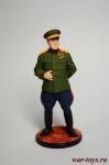 Маршал Советского Союза Г.К. Жуков, 1945 - Оловянный солдатик коллекционная роспись 54 мм. Все оловянные солдатики расписываются художником вручную