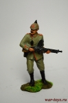 Унтер-офицер 45 пехотного полка, Германия, 1914 - Оловянный солдатик коллекционная роспись 54 мм. Все оловянные солдатики расписываются художником вручную