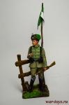 Немецкий гусар 1915 (гусары смерти) - Оловянный солдатик коллекционная роспись 54 мм. Все оловянные солдатики расписываются художником вручную