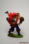 Пират с дамой - Оловянный солдатик коллекционная роспись 54 мм. Все оловянные солдатики расписываются художником вручную