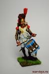Барабанщик линейной пехоты, Франция - Оловянный солдатик коллекционная роспись 54 мм. Все оловянные солдатики расписываются художником вручную