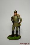 Немецкий пехотный офицер 1914 - Оловянный солдатик коллекционная роспись 54 мм. Все оловянные солдатики расписываются художником вручную