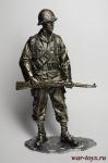 Вторая мировая. Американский солдат 90 мм