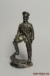 Командир Заволжского гусарского полка 1919 - Не крашенный оловянный солдатик. Высота 54 мм.