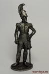 Полковник Лейб-гвардии Драгунского полка. Россия, 1810-15 - Не крашенный оловянный солдатик. Высота 54 мм.