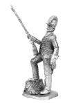 Рядовой конных егерей 1794 - Не крашенный оловянный солдатик. Высота 54 мм.
