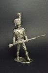 Карабинер Невшательского батальона, 1809 - Не крашенный оловянный солдатик. Высота 54 мм.