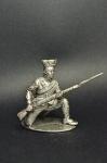 Рядовой Польского корпуса Цезальпинской республики, 1799 - Не крашенный оловянный солдатик. Высота 54 мм.