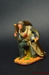 Король Франции Филипп Август во время третьего Крестового похода - Оловянный солдатик коллекционная роспись 54 мм. Все оловянные солдатики расписываются художником вручную
