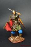Рязанский воевода боярин Евпатий Коловрат, 1238 год - Оловянный солдатик коллекционная роспись 54 мм. Все оловянные солдатики расписываются художником вручную
