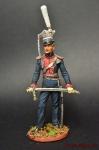 Офицер уланских полков, 1812 Россия - Оловянный солдатик коллекционная роспись 54 мм. Все оловянные солдатики расписываются художником вручную