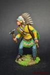 Индеец с тамагавком