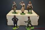 Набор оловянных солдатиков. Вторая Мировая