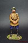 Штабс-капитанСеверо-западной армии - Оловянный солдатик коллекционная роспись 54 мм. Все оловянные солдатики расписываются художником вручную