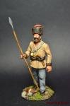Смоленский партизан - Оловянный солдатик коллекционная роспись 54 мм. Все оловянные солдатики расписываются художником вручную