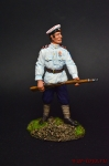 Фейерверкер арт бригады ген Маркова - Оловянный солдатик коллекционная роспись 54 мм. Все оловянные солдатики расписываются художником вручную