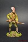 Приморский партизан - Оловянный солдатик коллекционная роспись 54 мм. Все оловянные солдатики расписываются художником вручную