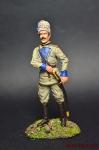 Офицер куреня Гайдамаков - Оловянный солдатик коллекционная роспись 54 мм. Все оловянные солдатики расписываются художником вручную