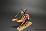 Пальмирский Араб на верблюде с копьём - Оловянный солдатик коллекционная роспись 54 мм. Все оловянные солдатики расписываются художником вручную