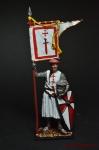Рыцарь Ордена меченосцев, 1202-1237 гг. - Оловянный солдатик коллекционная роспись 54 мм. Все оловянные солдатики расписываются художником вручную
