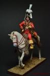 Иоахим Мюрат на коне. Франция - Оловянный солдатик коллекционная роспись 54 мм. Все оловянные солдатики расписываются художником вручную