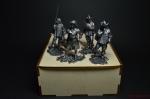 Набор оловянных солдатиков - Д артаньян и три мушкетёра - Набор оловянных солдатиков 4 шт 54 мм в подарочной коробке