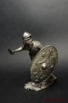Легионер вспомогательной когорты XXIV легиона, 1-2 вв н.э. - Не крашенный оловянный солдатик. Высота 54 мм