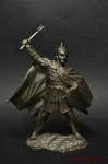 Знатный русский дружинник, 14 век - Не крашенный оловянный солдатик. Высота 54 мм