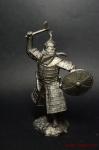 Золотоордынский воин, 14 век - Не крашенный оловянный солдатик. Высота 54 мм