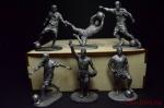 Набор оловянных солдатиков - Футболисты