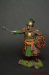 Знатный золотоордынский воин, 14 век - Оловянный солдатик коллекционная роспись 54 мм. Все оловянные солдатики расписываются художником вручную